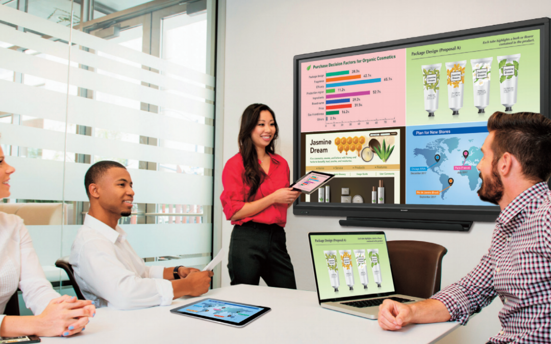 How a Sharp AQUOS BOARD® Can Improve Office Meetings