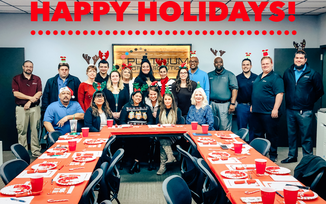 Happy Holidays from Platinum Copier Solutions!