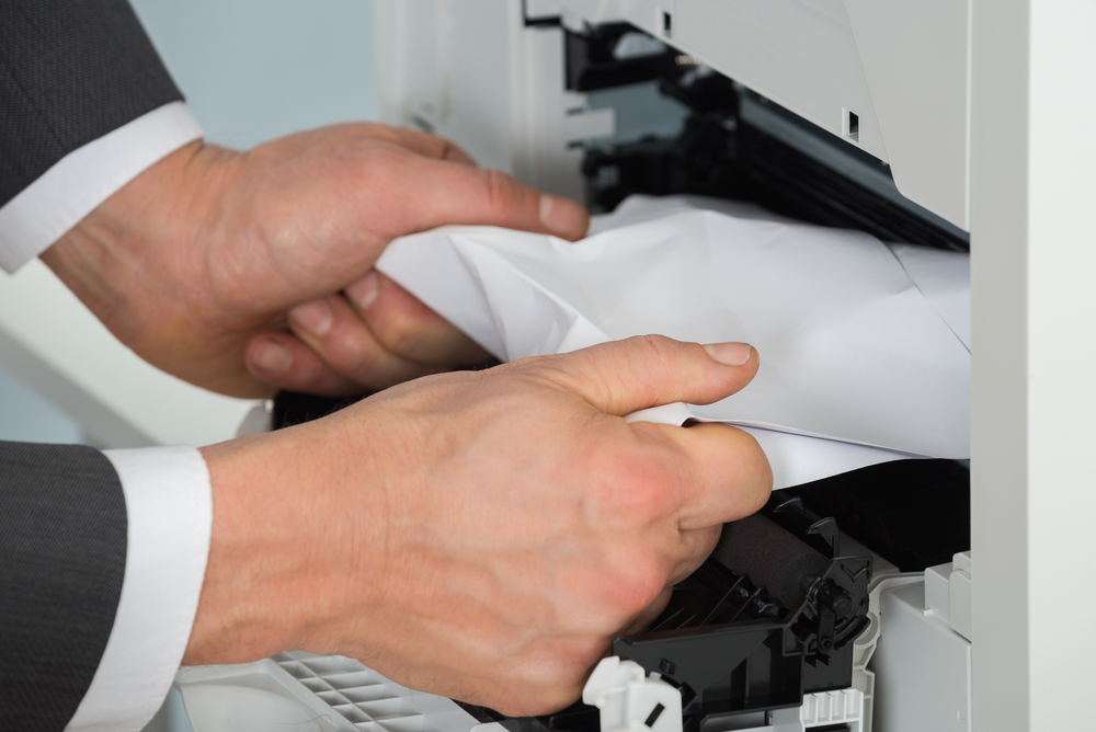 Preventing a Paper Jam in Your Office Printer