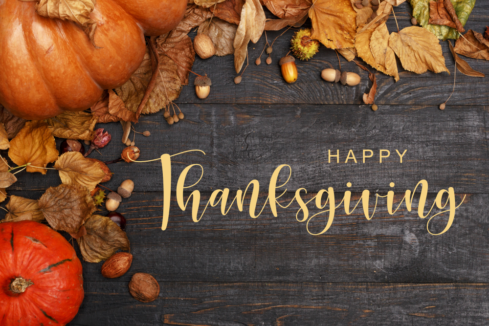 Happy Thanksgiving from Platinum Copier Solutions Beaumont!